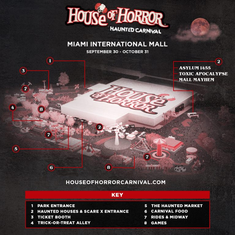 House of Horror Map